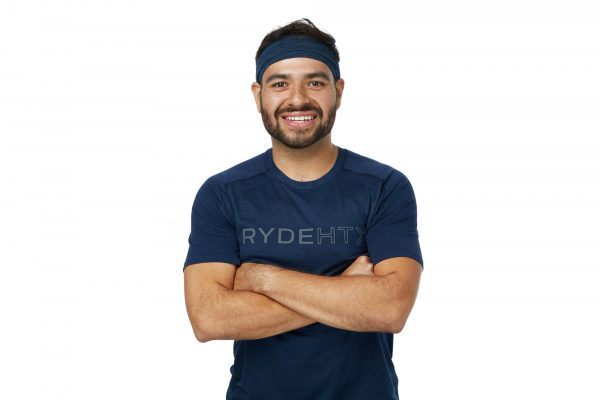 Isaias Houston RYDE indoor cycling instructor